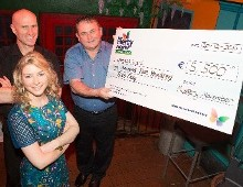 Muskerry Arms Charity Shave raises €5,770 for Children's Leukaemia Unit at Mercy University Hospital