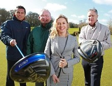 GAA legends swop hurlies for golf clubs to launch The Mercy Hospital Foundation Golf Classic Thursday 21st and Friday 22nd April, 2016 – Fota Island Golf Club