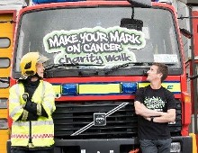 Bandon fireman joined by Rob Heffernan to launch 'Make Your Mark on Cancer' 2018 in aid of Mercy Cancer Appeal