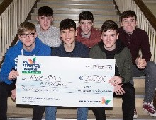 Carrigaline Christmas Day Charity Swim in memory of Danny Crowley raises €12,000 for The Mercy Kids + Teens Appeal