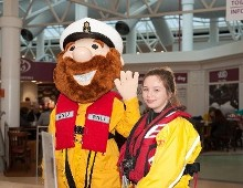 RNLI named 'Douglas Court Shopping Centre Charity Partner of the Year'