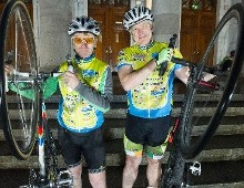 Pedal Power as Solicitors Spin the Wheels of Justice for Charity
