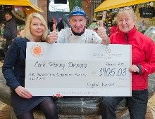 The English Market presents cheque to Cork Penny Dinners for money raised