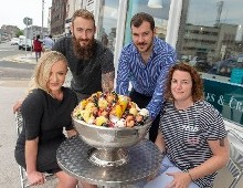Giant 13lb Jägermeister Gelato Sundae created to launch Ireland's Most Delicious Festival #DessertFSTVL