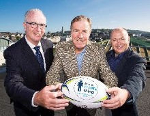 Rugby Legends Line Out for the Mercy Cancer Appeal
