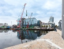 One Albert Quay moves one step closer to completion