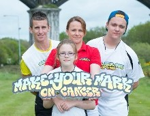 Olympic race-walker Rob Heffernan 'Makes his Mark on Cancer' in aid of Mercy Hospital Foundation