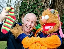 What a pair! Ray D'Arcy and Socky Reunite to launch World Down Syndrome Day