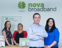 Cork Company Nova Broadband experience great success in 2014 and look set to take 2015 by storm
