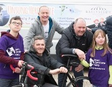 Unsung Heroes to be honoured at charity cycle