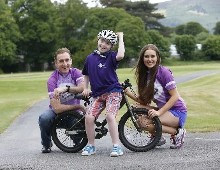 On your bike! Sean Kelly and Roz Purcell Launch Down Syndrome Ireland Charity Cycle -Tour de Leinster September 2015 -