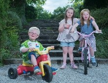 15th Annual Tour de Munster Charity Cycle  in aid of Down Syndrome Ireland  officially launched at Lismore Castle