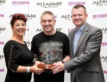 A cut above the rest. Wayne Lloyd Hair shines at the ALFAPARF Fantastic Hairdresser Awards 2015