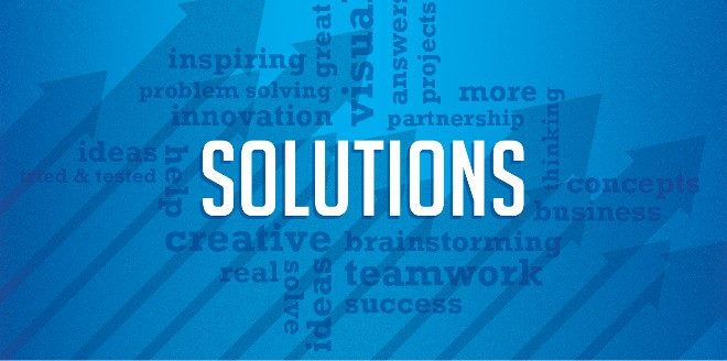 Solutions not services