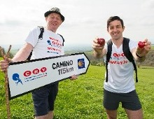 Cha-cha the Camino for CRY with Dancing with the Stars and GAA legend, Aidan O Mahony