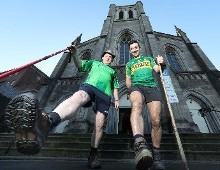 GAA Legend walks the Camino again for CRY