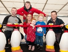 Brave Emily Byrne officially opens Winterval on Ice