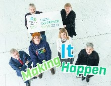 "LEO Cork City and Cork Entrepreneurs - ""Making It Happen""  Local Enterprise Week"