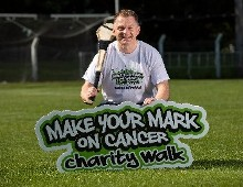 Making his Mark: Cork Hurling Legend Joe Deane launches  'Make Your Mark on Cancer' charity walk in aid of the Mercy Hospital Foundation