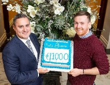 The Imperial Hotel's Black Tie Gala Ball raises €11,000 for Pieta House