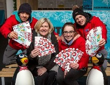 Winterval on Ice and Solas Cancer Support Centre team up for Charity Ice Skating Sessions